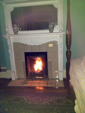 Foley House Inn:                   loved the gas fireplace