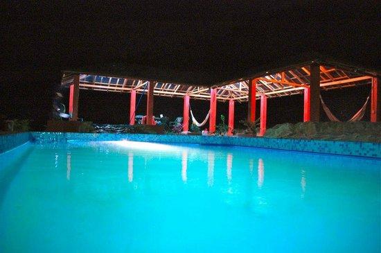 Monoloco : Pool at night