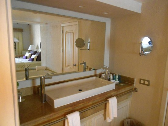 Excellence Punta Cana:                   Sink area in the room