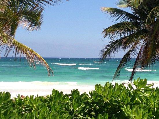 Cabanas Tulum:                   Room view