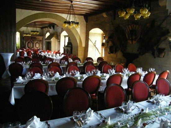 Hotel Burg Colmberg: Burg Colmberg Banquet hall