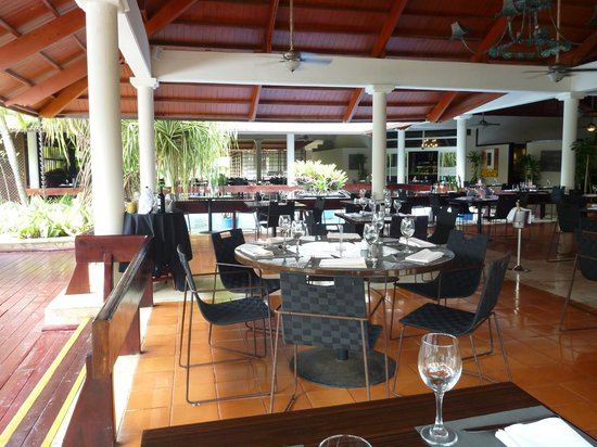 Paradisus Punta Cana:                   part of new restaurant at beach front