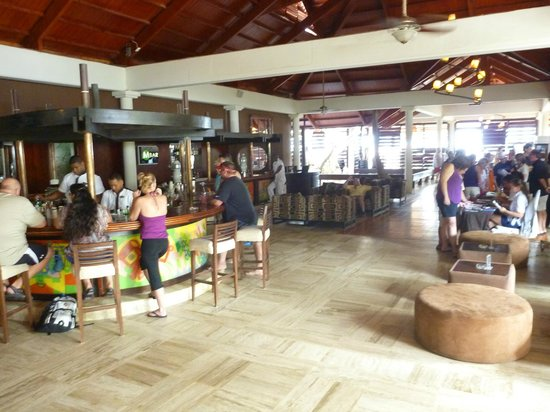 Paradisus Punta Cana Resort:                   new bar in new building off beach
