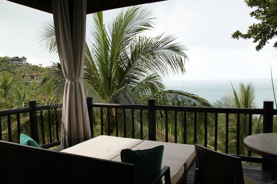 Four Seasons Resort Koh Samui Thailand:                   view from villa