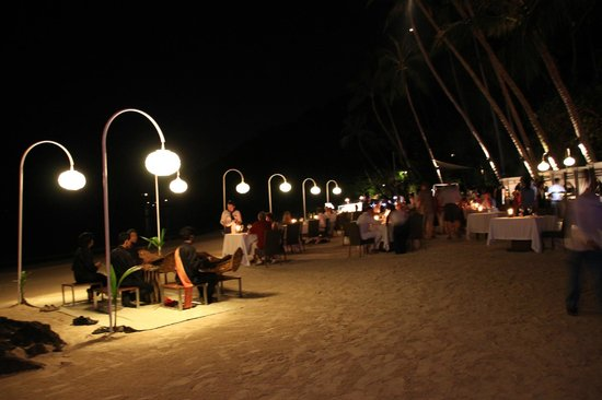 Four Seasons Resort Koh Samui Thailand:                   Beach BBQ