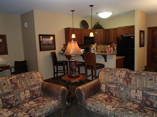 Arrowwood Resort & Conference Center : livingroom