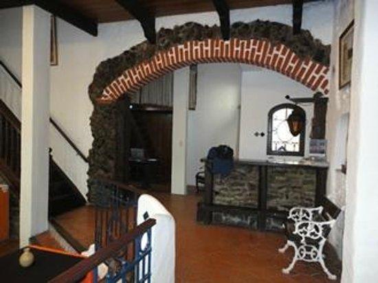 Posada Casa Los Pinos:                   Recepción