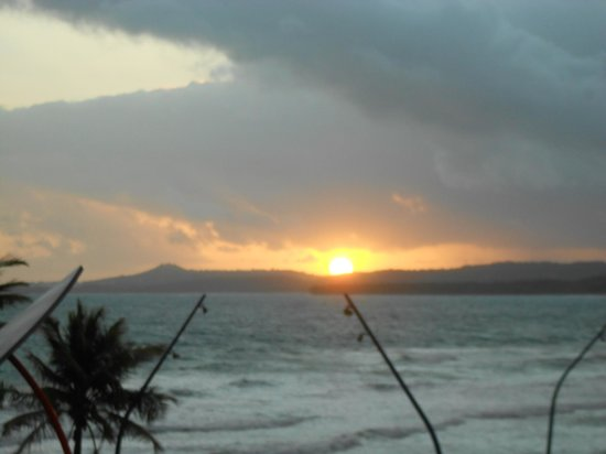 Luquillo Sunrise Beach Inn:                   Sunrise from our room