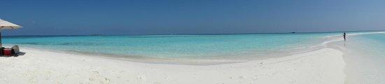 PER AQUUM Huvafen Fushi: Private Sandbank