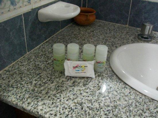 Barrancas de Brochero:                   los shampoo y acondicionadores