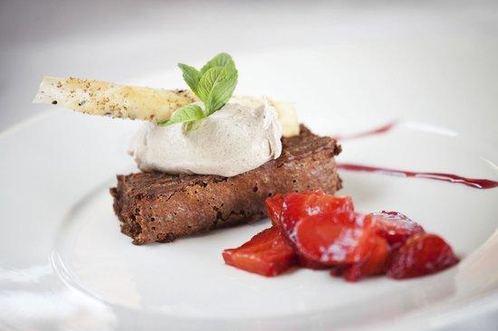 Katharina: Postre de signatura: el chocolate Cake Suizo