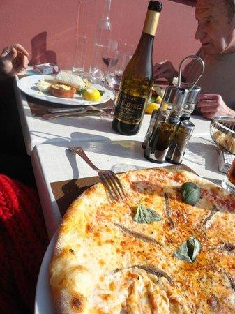 La Vigna : La pizza Napolitaine et l'aïoli
