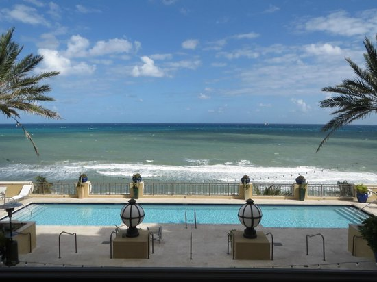 The Atlantic Hotel & Spa: Our view