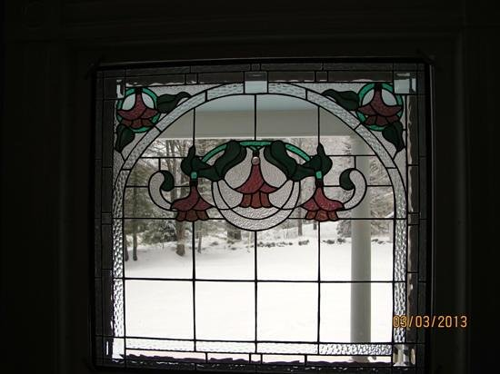 Noble House Inn:                   window in front sitting room