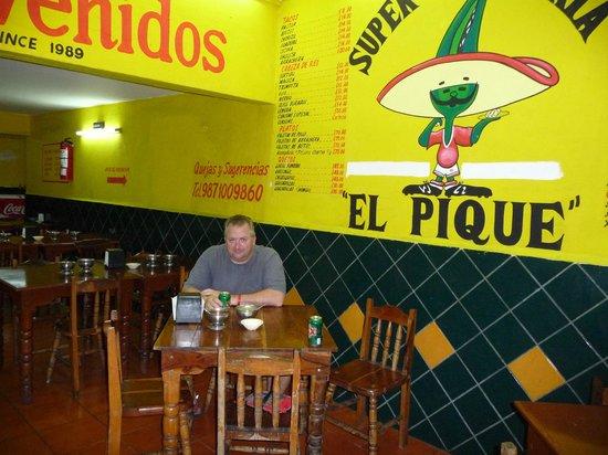Taqueria El Pique:                   El Pique