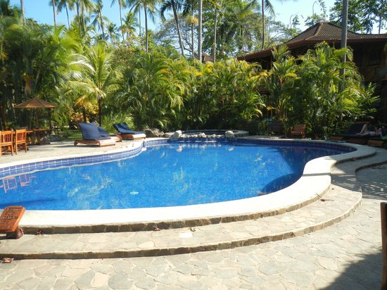 Tambor Tropical Beach Resort :                                                       Sparkling Pool