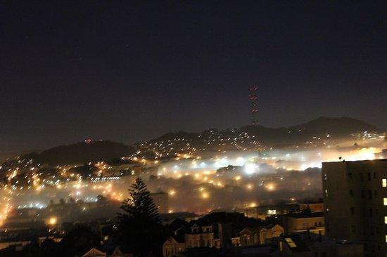 Hotel Drisco:                   Fog rolling in at night