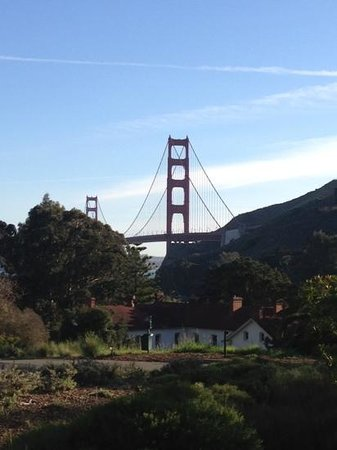 Cavallo Point: View from my room