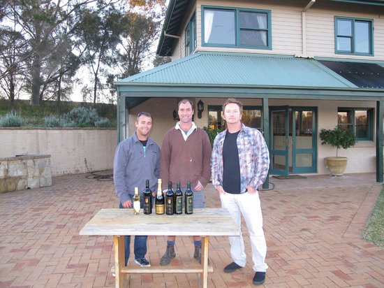 Marsh Estate:                   boys with some samplers .