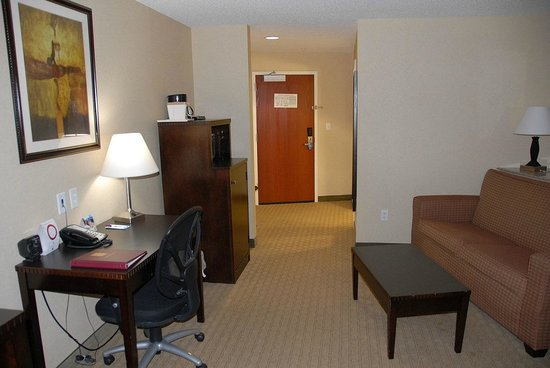 Comfort Suites:                                     Living/Work area