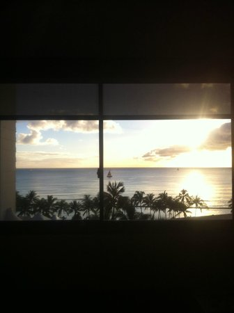 Hotel Renew:                                     The view from room 908 (two double bed room)