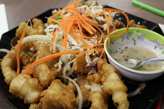 Pho Phu Quoc Vietnamese Restaurant:                                     Salted squid