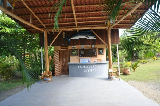 Las Islas Lodge: Reception