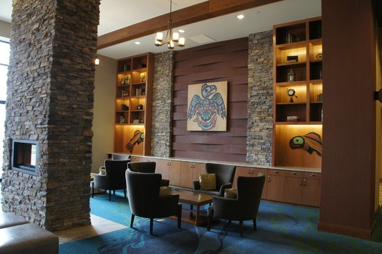 Swinomish Casino & Lodge: Hotel lobby