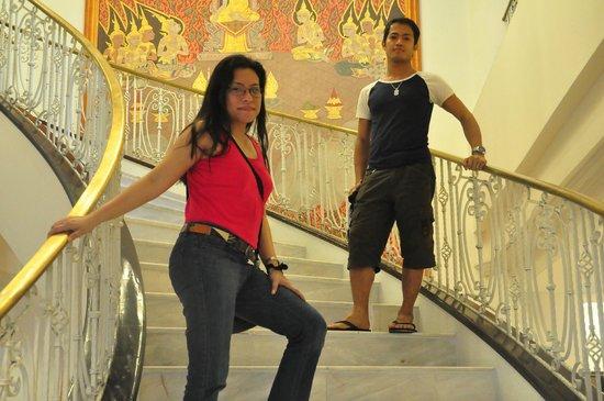 เพรสซิเดนท์โซลิแทร์:                   grand stairway