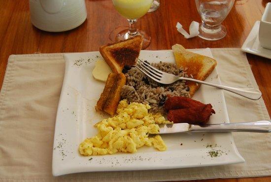H&B Lodge and Restaurant:                                     Wonderful Breakfast