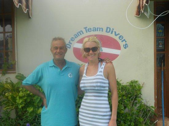 Dream Team Divers:                                     My instructor, Ken Brown