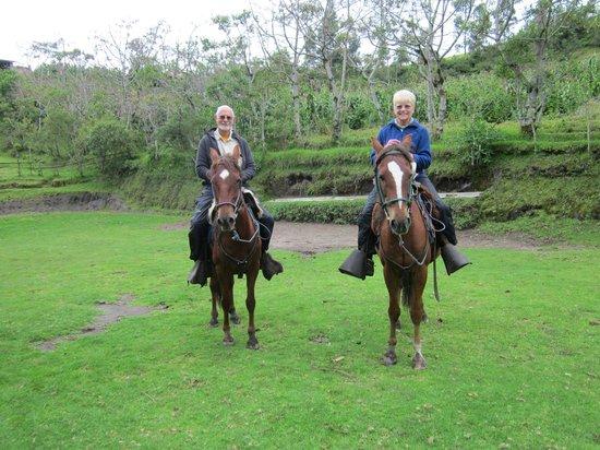 Casa Mojanda:                                     Horseback ride