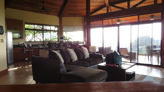 Tulemar Bungalows & Villas:                   Second floor of Casa Panorama North