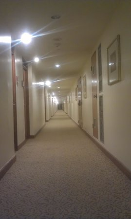 Hilton Trinidad and Conference Centre: Soulless corridors