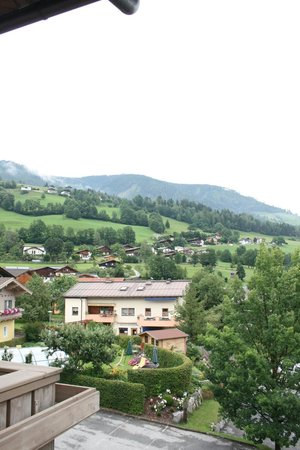 Scharlers Boutique Hotel:                   View from balcony