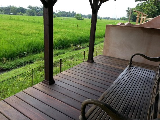 Yabbiekayu Homestay Bungalows: view from our back porch