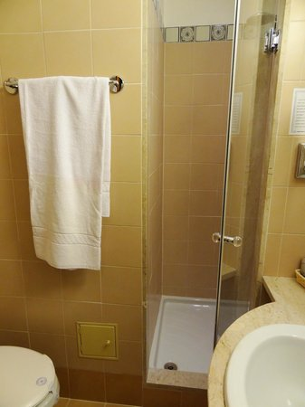 BEST WESTERN Hotel Paradiso:                   Single Room 202 - bathroom