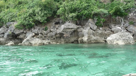 Marinduque Island, Philippines:                                     Tres Reyes Islands