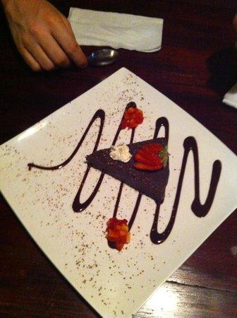 Jungle Love Cafe:                   Dessert chocolaté trop bon