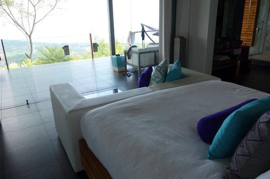 Kura Design Villas Uvita :                                     room overlooking terrace