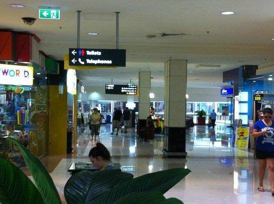 Australia Fair Shopping Centre: inside the mall