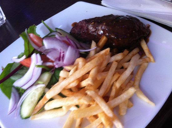 Central Lounge Bar & Dining: my meal