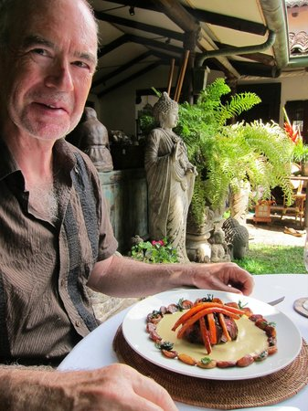 Park Cafe: Exquisite food, intimate courtyard dining experience
