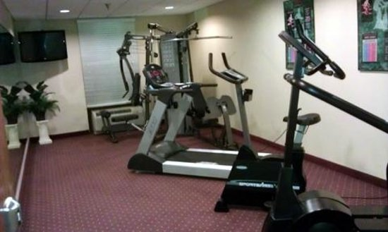 Best Western Plus Belle Meade Inn & Suites :                   OK fitness room, enough to get by and clean