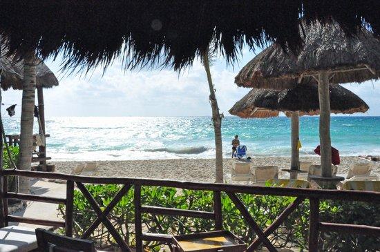 Mahekal Beach Resort:                   View from room