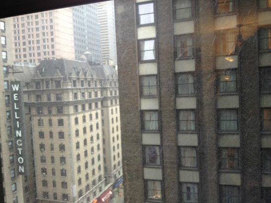 The Manhattan Club: View from the 12th floor.