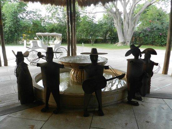 Hotel Chichen Itza: parte de la recepción