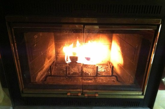 In-room fireplace - Picture of Pocono Palace Resort, Marshalls ...