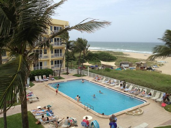 View From Studio Of Pool Beach Picture Of Club Wyndham Sea