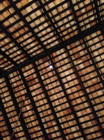 Villa Tissa Beach Resort:                   Lovely holes in the roof - Mosquito bites/rain anyone?